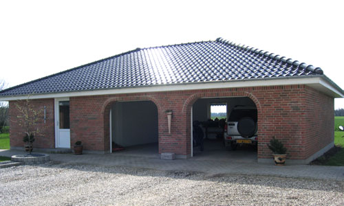Privat garage, Frederiks